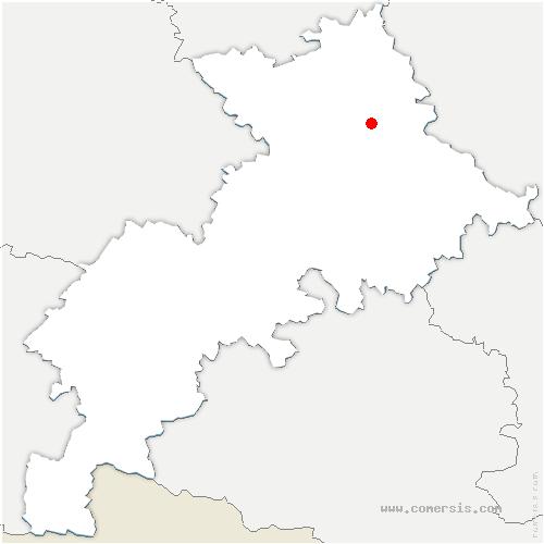 carte de localisation de Saint-Jean
