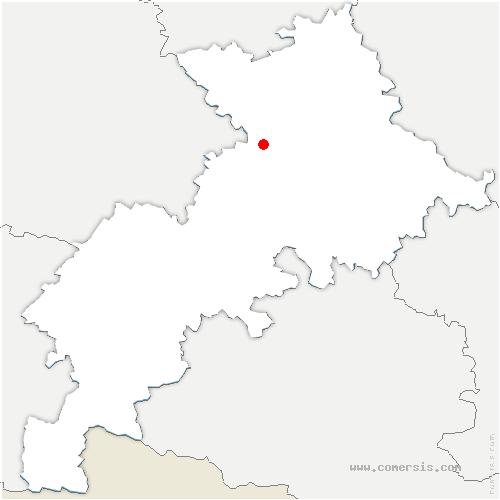 carte de localisation de Salvetat-Saint-Gilles