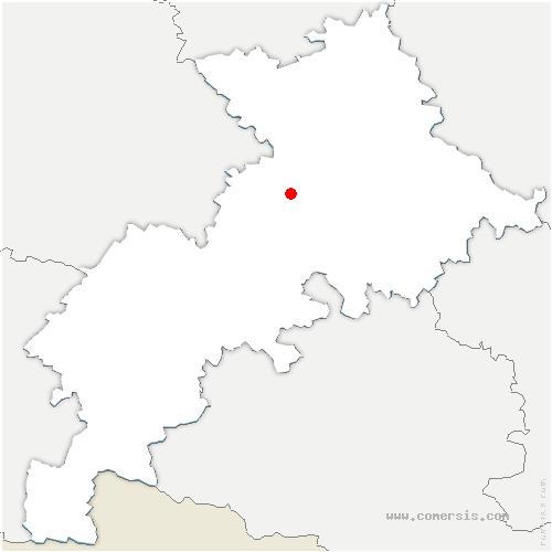 carte de localisation de Seysses