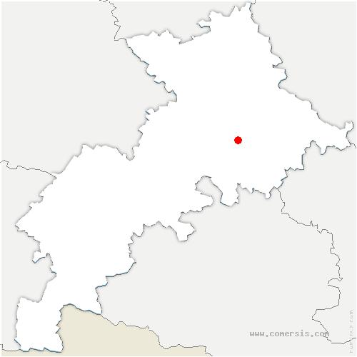 carte de localisation de Venerque
