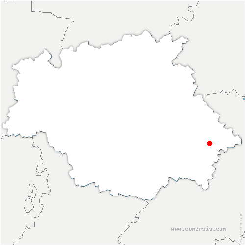 carte de localisation de Castillon-Savès