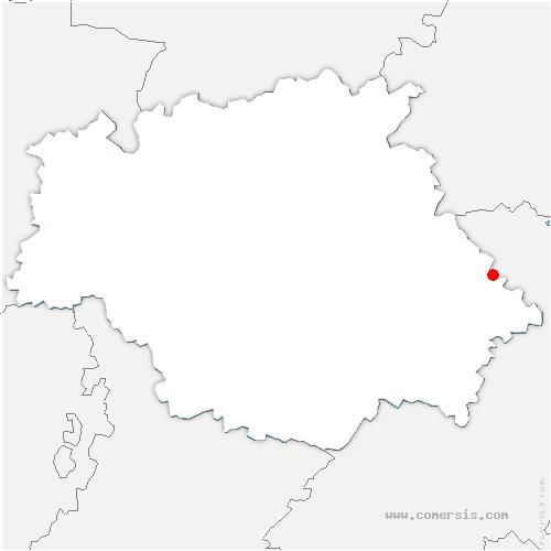 carte de localisation de Encausse
