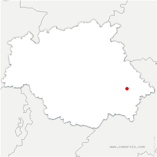 carte de localisation de Giscaro
