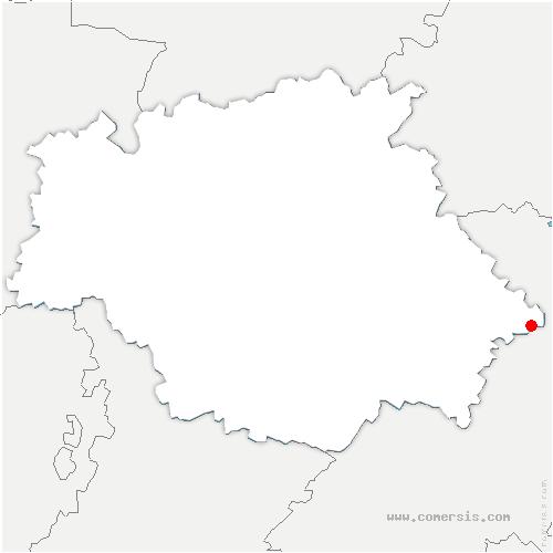 carte de localisation de Lias