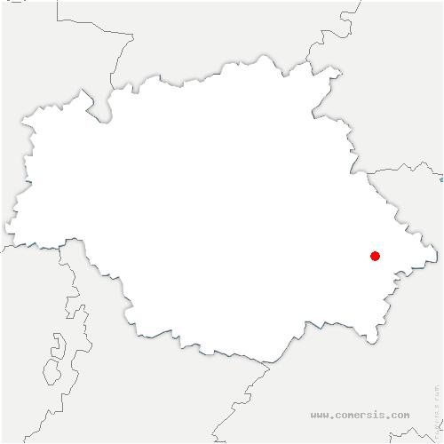 carte de localisation de Marestaing