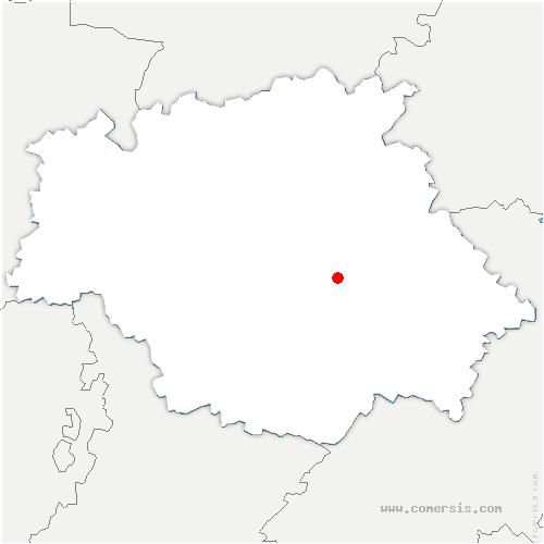 carte de localisation de Mauvezin