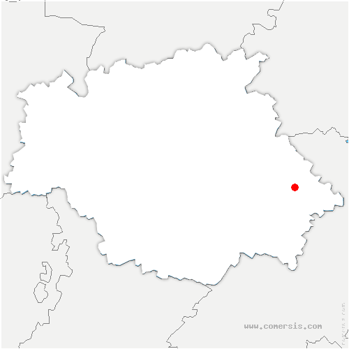 carte de localisation de Monferran-Savès