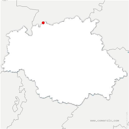 carte de localisation de Montréal