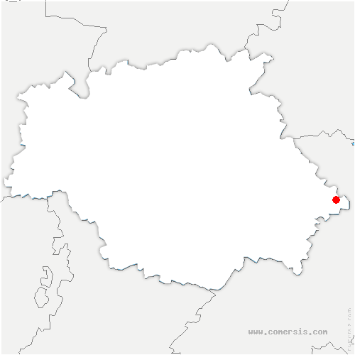 carte de localisation de Pujaudran