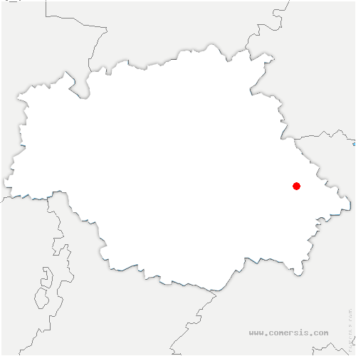 carte de localisation de Razengues