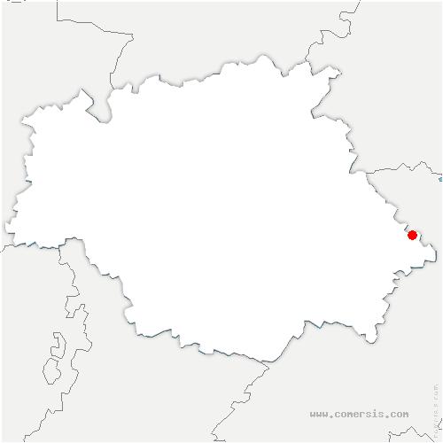 carte de localisation de Ségoufielle