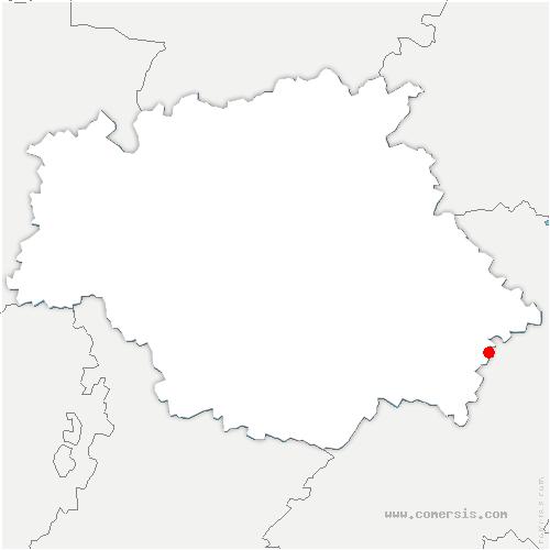 carte de localisation de Seysses-Savès