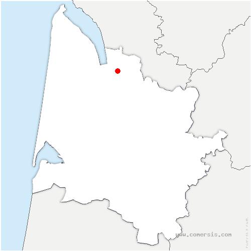carte de localisation de Eyrans