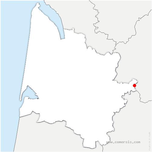 carte de localisation de Ligueux