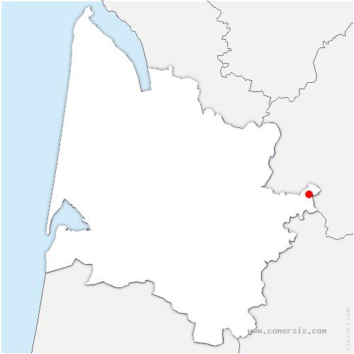carte de localisation de Saint-Philippe-du-Seignal