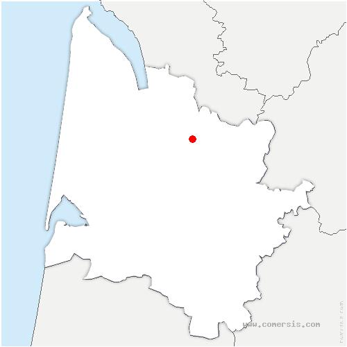 carte de localisation de Val-de-Virvée