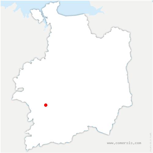 carte de localisation de Bovel