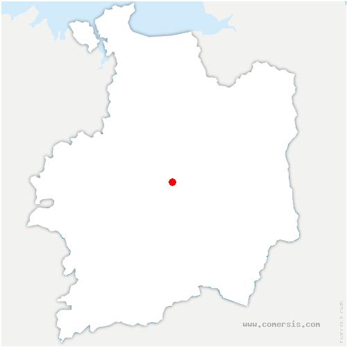 carte de localisation de Cesson-Sévigné