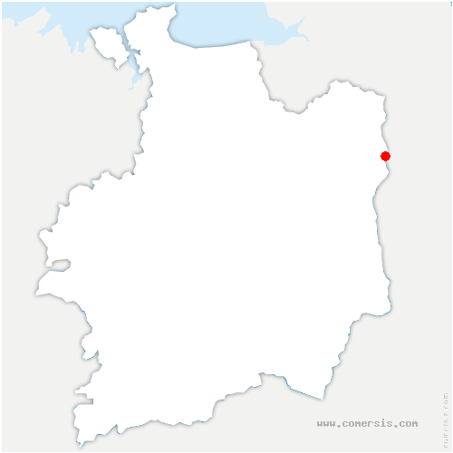 carte de localisation de Chapelle-Janson