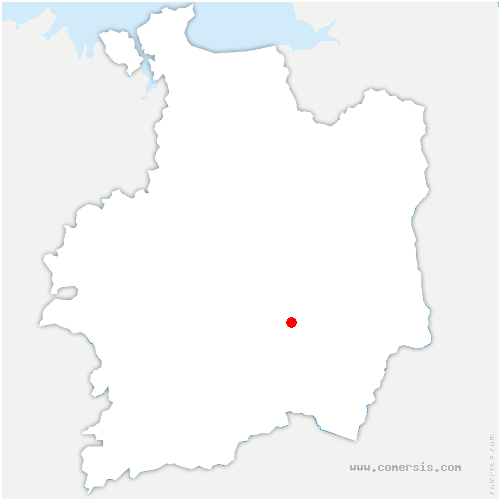carte de localisation de Piré-Chancé