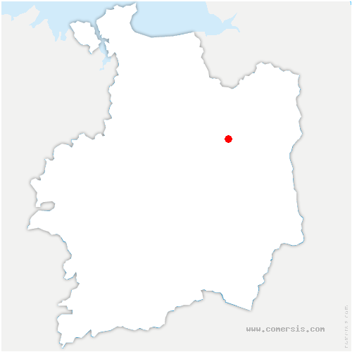 carte de localisation de Rives-du-Couesnon