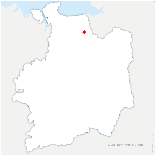 carte de localisation de Vieux-Viel