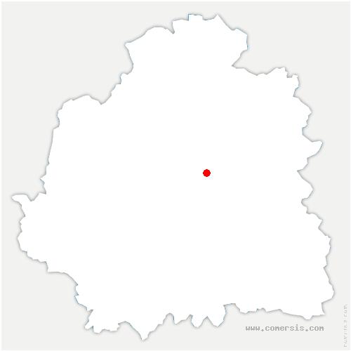 carte de localisation de Saint-Maur