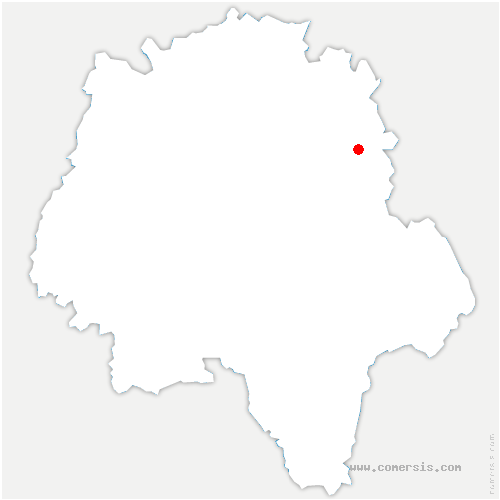 carte de localisation de Limeray