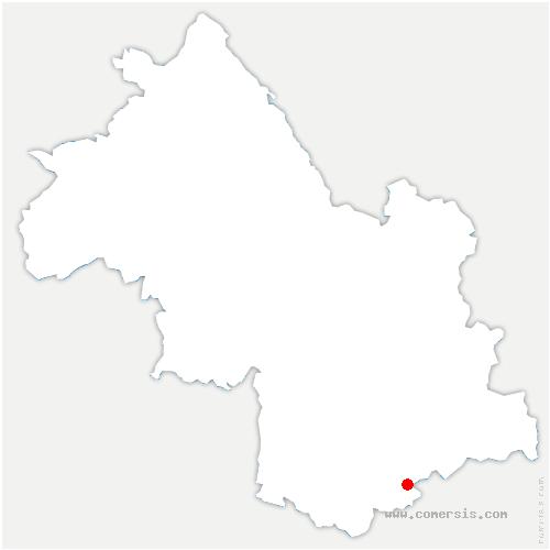 carte de localisation de Ambel