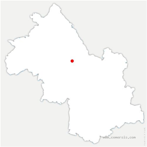 carte de localisation de Apprieu