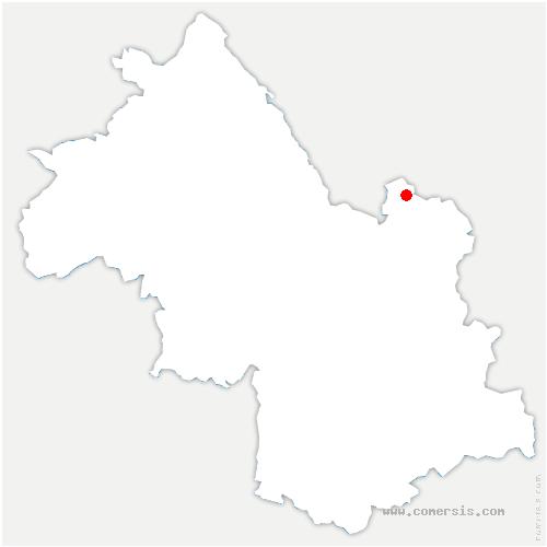 carte de localisation de Barraux