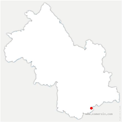 carte de localisation de Beaufin