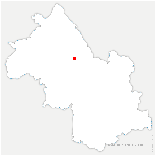 carte de localisation de Bilieu