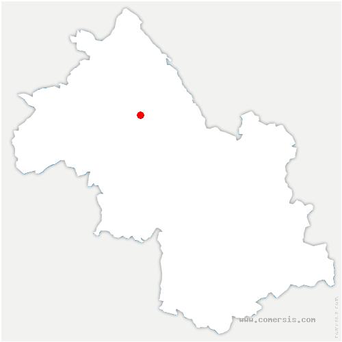 carte de localisation de Biol