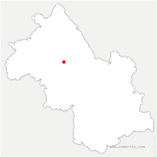 carte de localisation de Bizonnes
