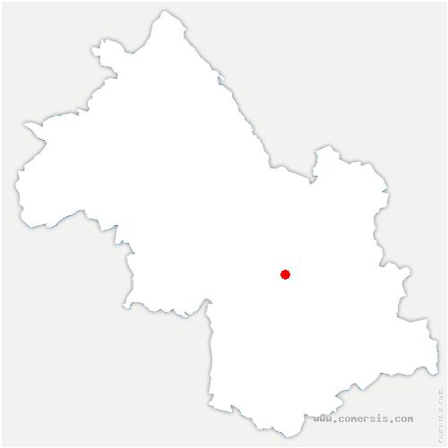 carte de localisation de Brié-et-Angonnes