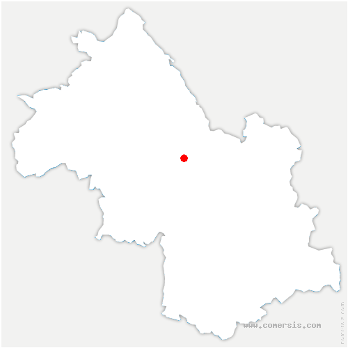 carte de localisation de Buisse