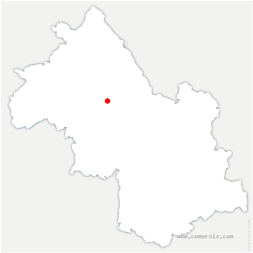 carte de localisation de Burcin