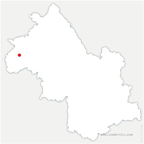 carte de localisation de Châlons