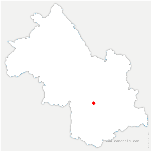carte de localisation de Champ-sur-Drac