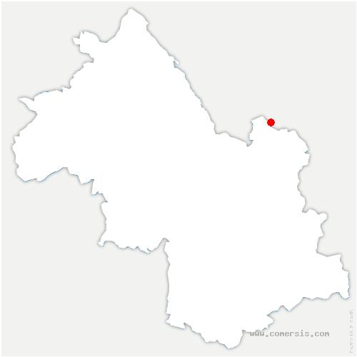 carte de localisation de Chapareillan