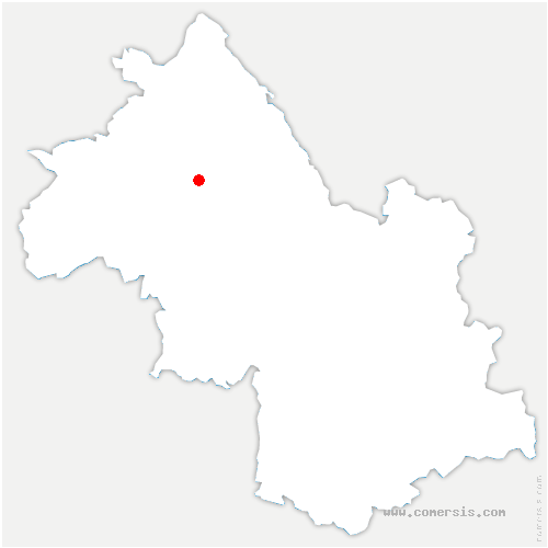 carte de localisation de Châteauvilain