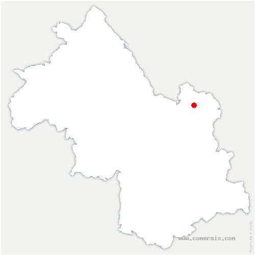 carte de localisation de Cheylas