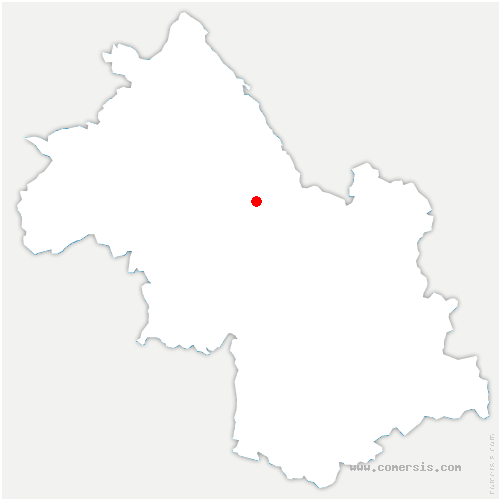 carte de localisation de Chirens