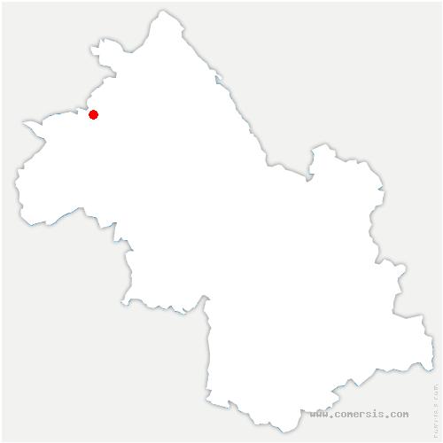 carte de localisation de Diémoz