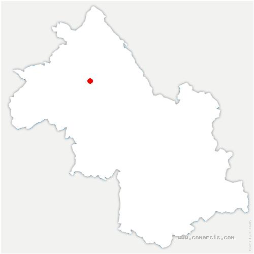 carte de localisation de Éparres