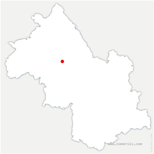 carte de localisation de Grand-Lemps