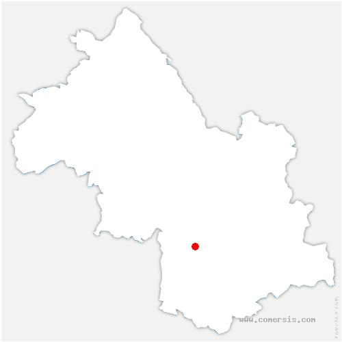 carte de localisation de Gua
