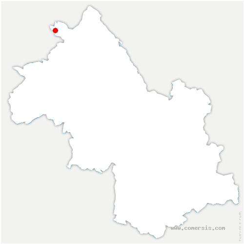 carte de localisation de Janneyrias