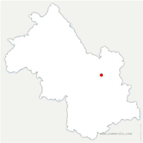 carte de localisation de Laval